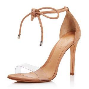 Schutz Nubuck high heel sandals